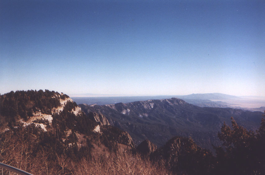 View from Sandias