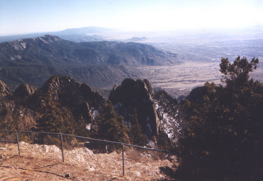 Ridges from Sandias