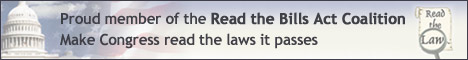 Read the Bills Act - Make Congress read the laws it passes